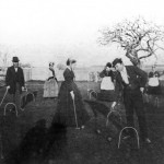 Falmouth_Gould Family playing Croquet